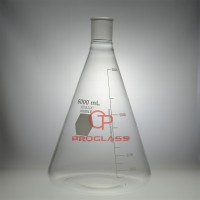 Flask,Erlenmeyer,Heavy Wall,45/50,6000mL