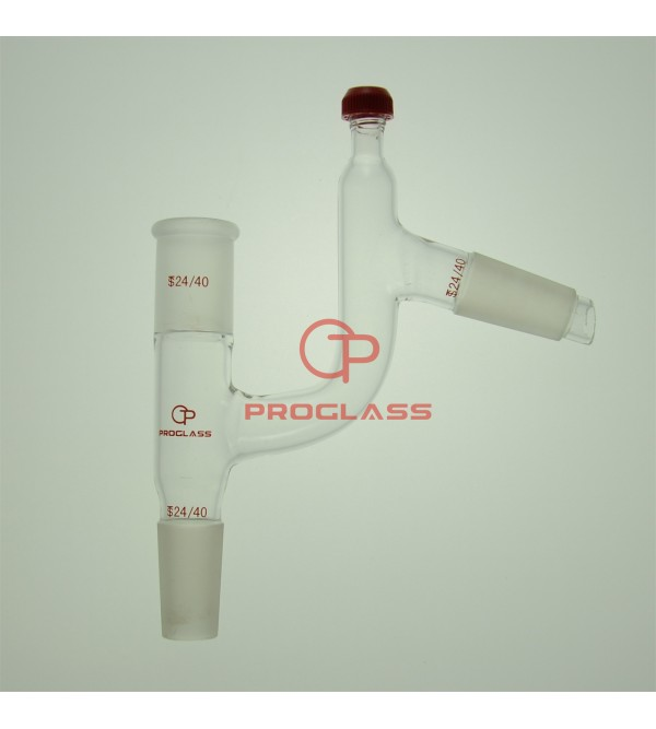 Adapter,Distillation Claisen adapter four way with Thermometer adapter