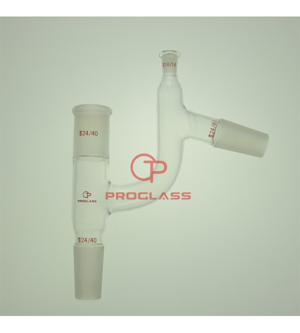 Adapter,Distillation Claisen adapter four way with 10/18 Thermometer adapter