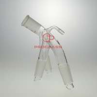 Distillation adapter,three way