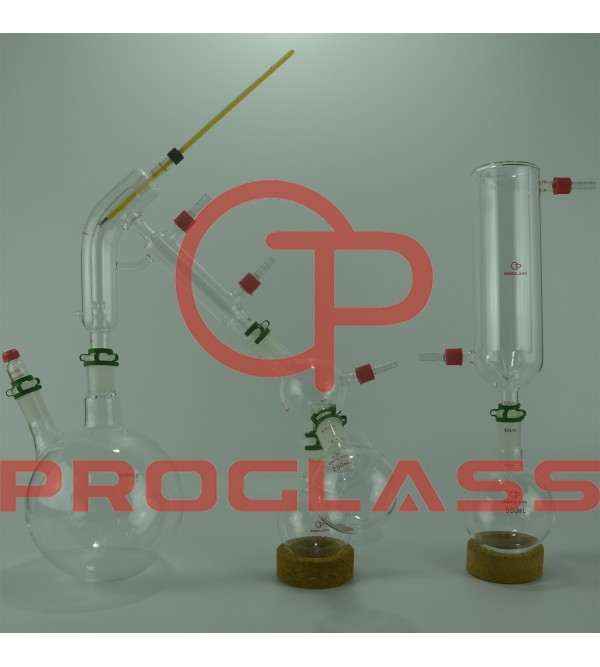 Short Path 2L Short Path Distillation Kit With Cold trap